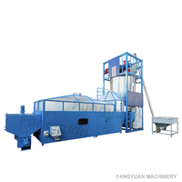 SPJ 180B EPS expandable polystyrene pre expander foaming machine