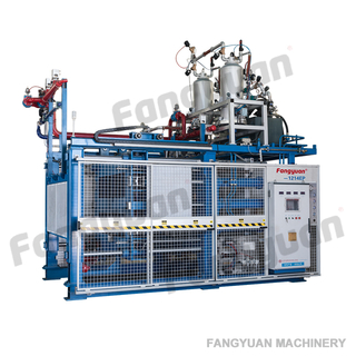 Fangyuan SPZ813-1318EP automatic ETPU EPP foam moulding machine for Insulation foam box