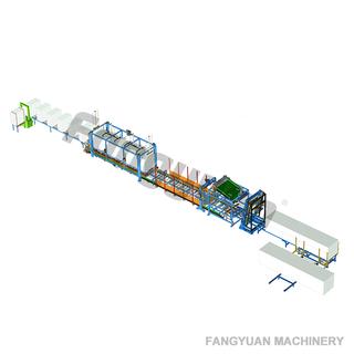 方圆定制水平型全自动聚苯乙烯热线EPS泡沫切割机连续切割线