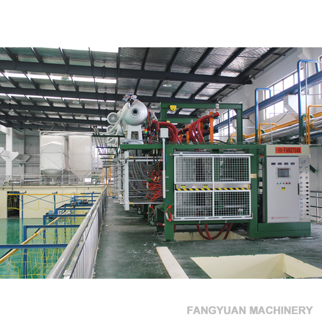 styrofoam shape moulding machine with high efficiency for fish box